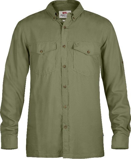 FjallRaven Abisko Vent Shirt LS Green-30
