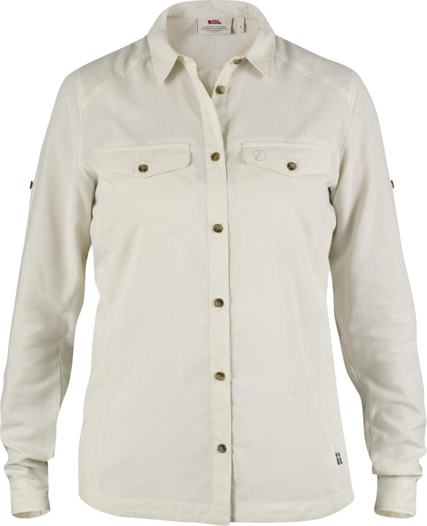 FjallRaven Abisko Vent Shirt LS W. Light Beige-30