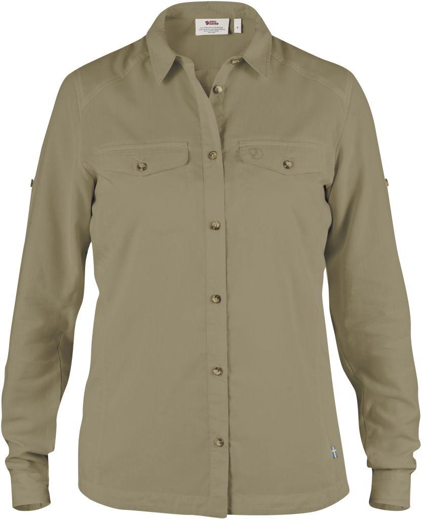 FjallRaven Abisko Vent Shirt LS W. Cork-30