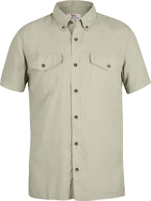 FjallRaven Abisko Vent Shirt SS Light Beige-30