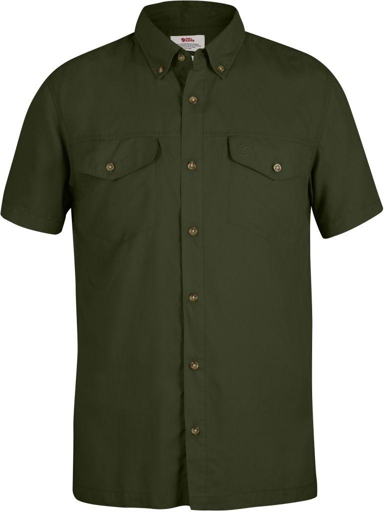 FjallRaven Abisko Vent Shirt SS Pine Green-30