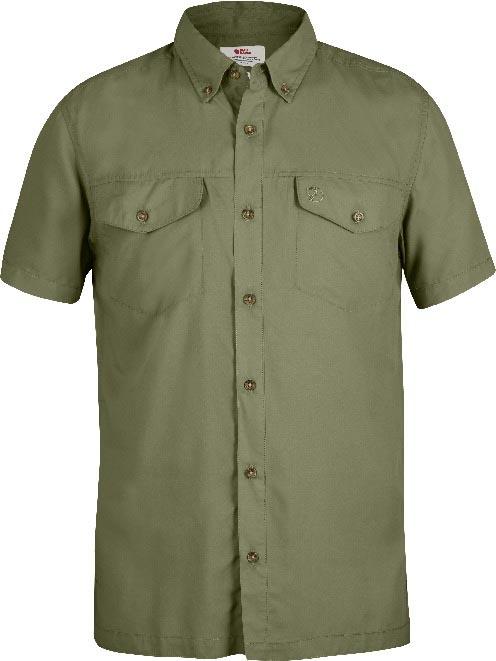 FjallRaven Abisko Vent Shirt SS Green-30
