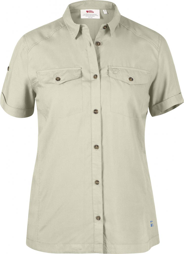 FjallRaven Abisko Vent Shirt SS W. Light Beige-30
