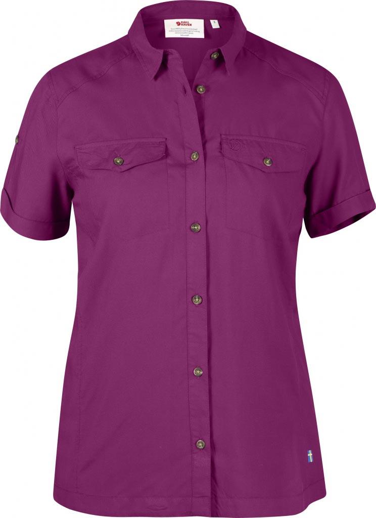 FjallRaven Abisko Vent Shirt SS W. Fuxia-30