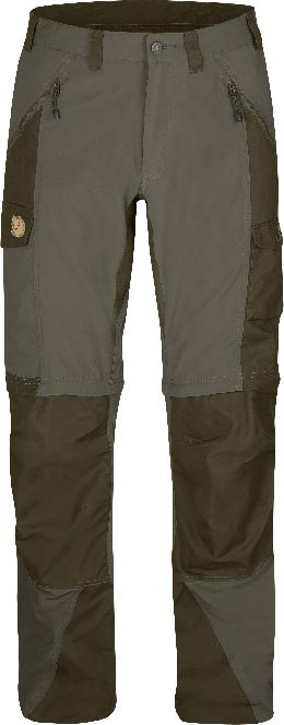 FjallRaven Abisko Zip-Off Trousers Tarmac-30