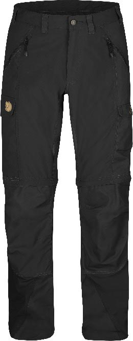 FjallRaven Abisko Zip-Off Trousers Black-30