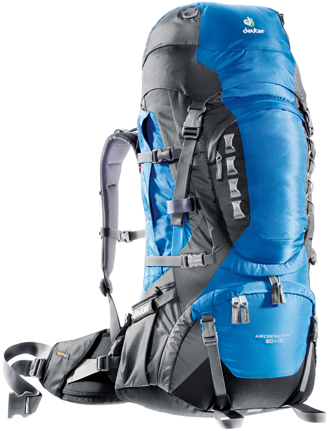 Deuter Aircontact PRO 60 + 15 ocean-anthracite-30