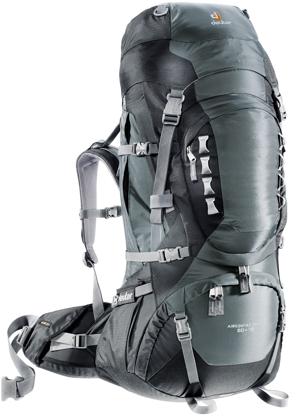Deuter Aircontact PRO 60 + 15 granite-black-30