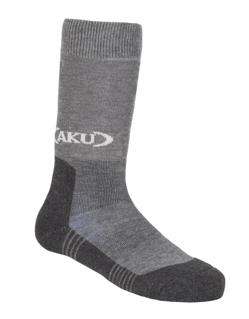 Trekking Hi Kid Sock Light Grey/Grey-30