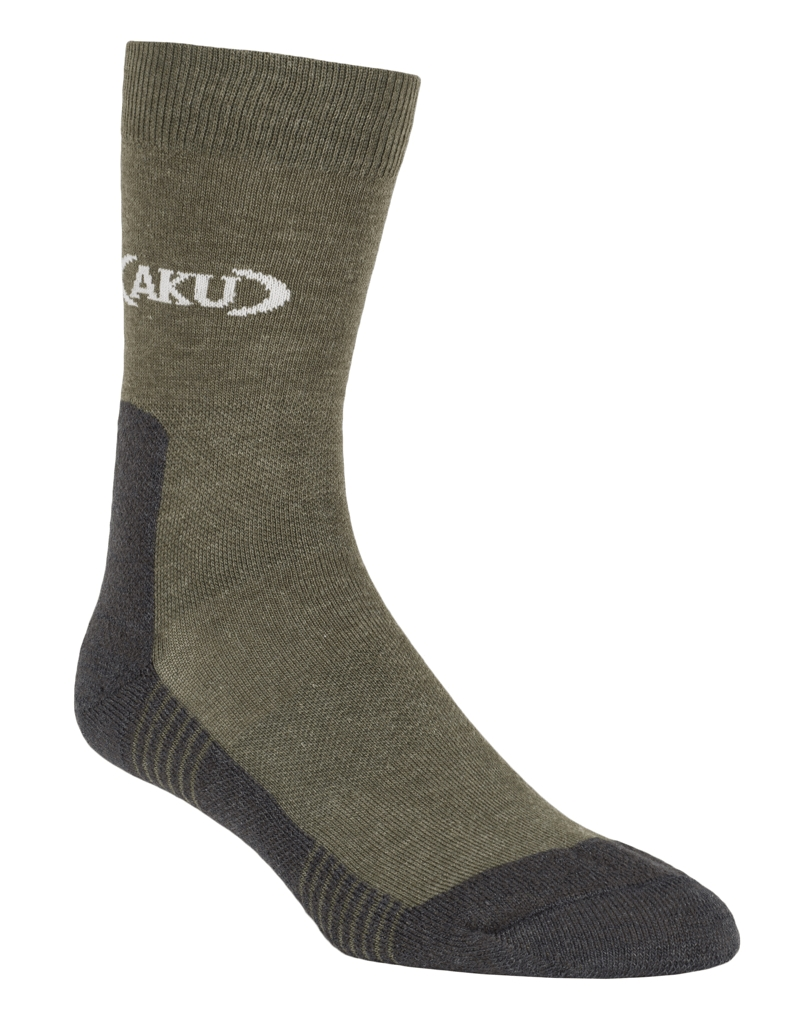 Trekking Low Socks Green/Dark Grey-30