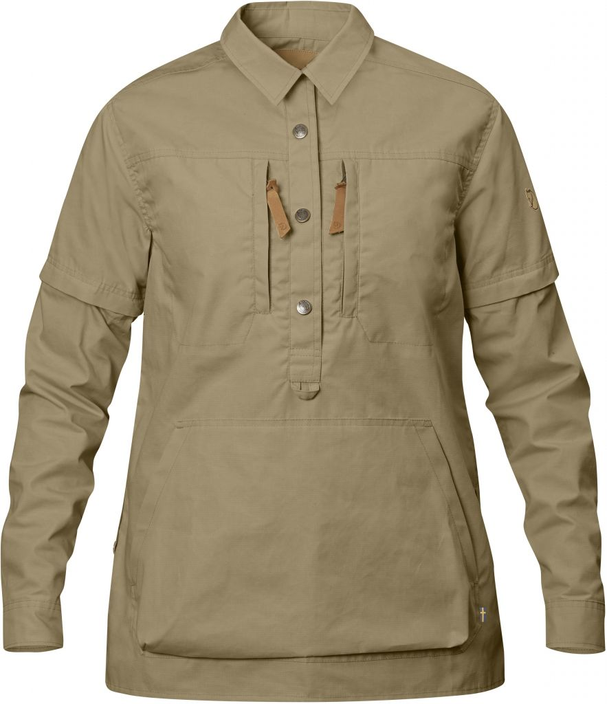 FjallRaven Anorak Shirt No. 1 W Sand-30