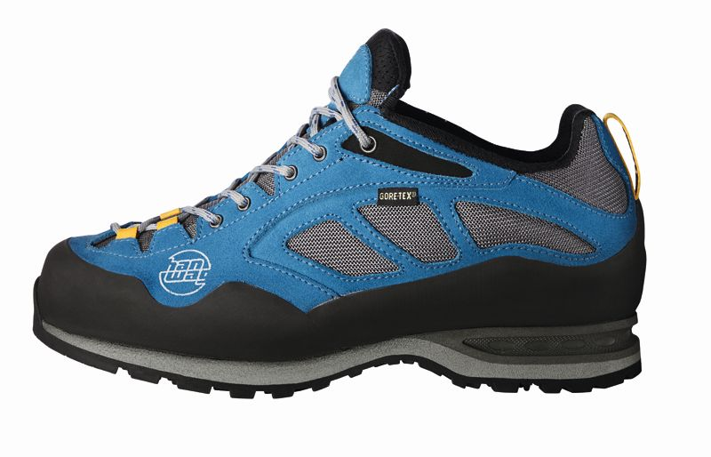 Hanwag - Approach II GTX UN blue - Approach Shoes - UK  8.5