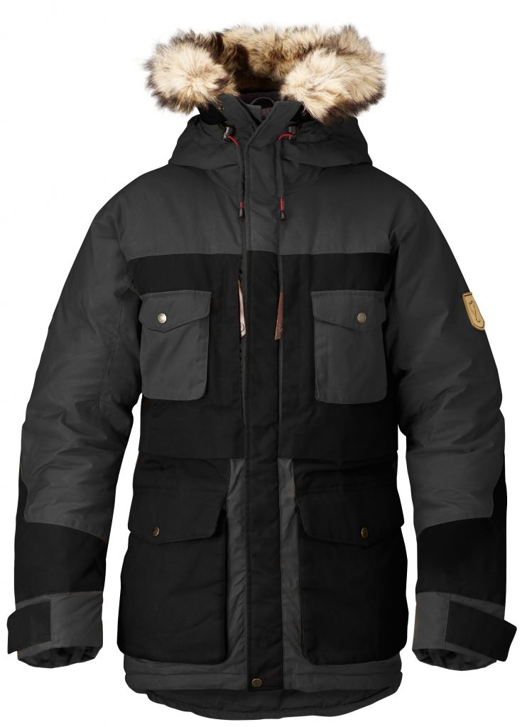 FjallRaven Arktis Parka Dark Grey-30