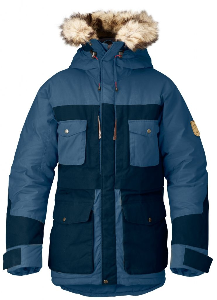 FjallRaven Arktis Parka Uncle Blue-30
