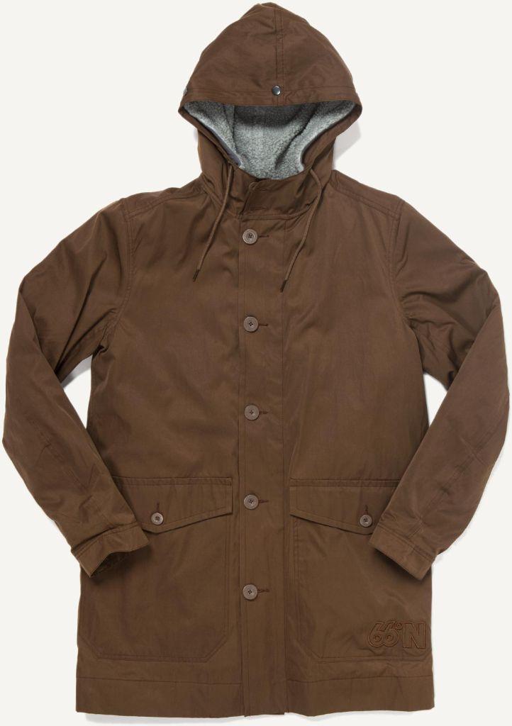 Arnarholl Coat Special Edt. Dark Messing-30