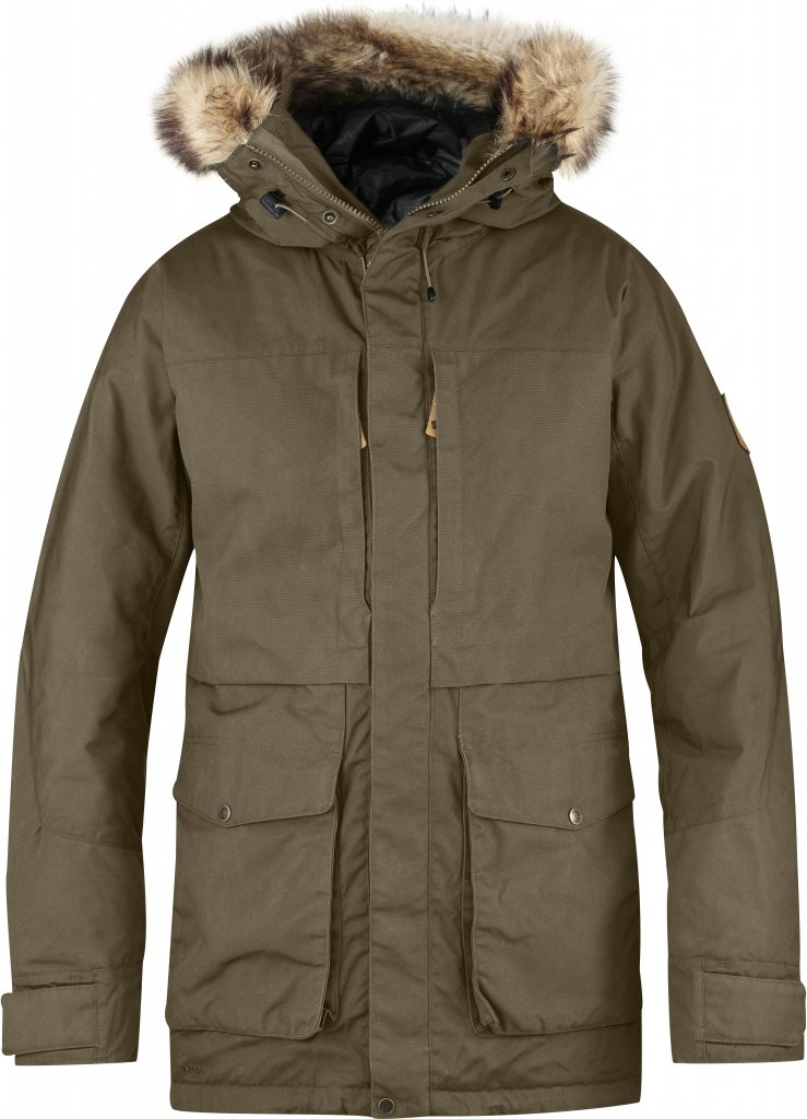 FjallRaven - Barents Parka Taupe - Isolation & Winter Jackets - L