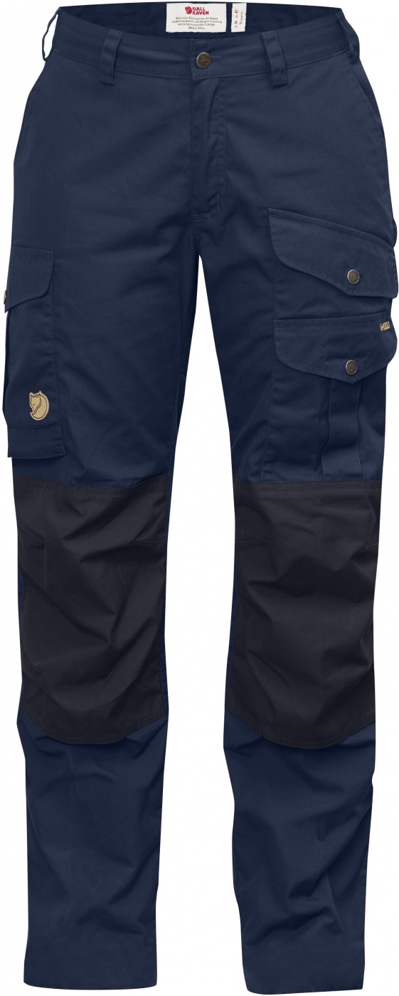 FjallRaven Barents Pro Curved Trousers W Storm-Night Sky-30