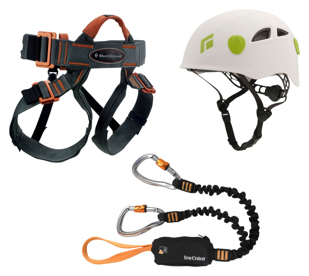 Black Diamond Iron Cruiser Via Ferrata Package-30