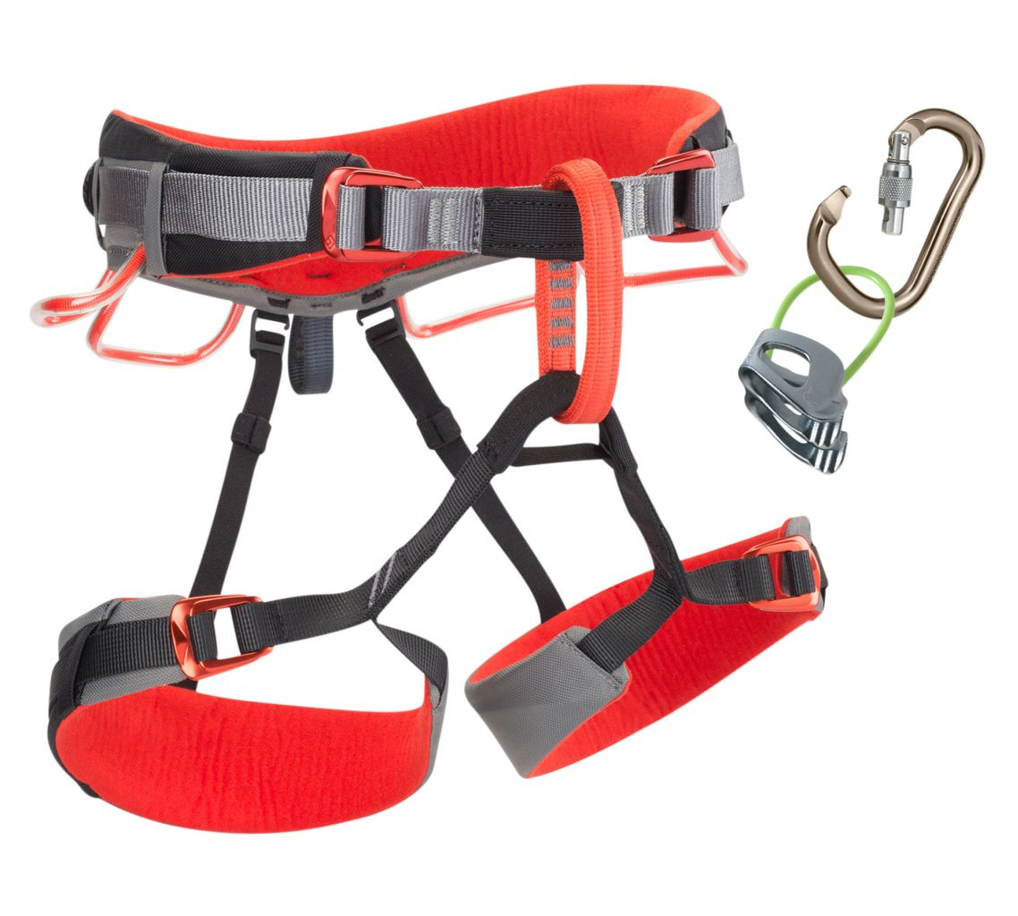 Black Diamond Momentum Ds Harness Combo Steel-30