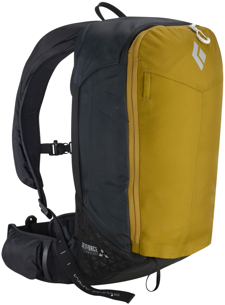 Black Diamond Pilot 11 Jetforce Avalanche Airbag Pack Curry-30