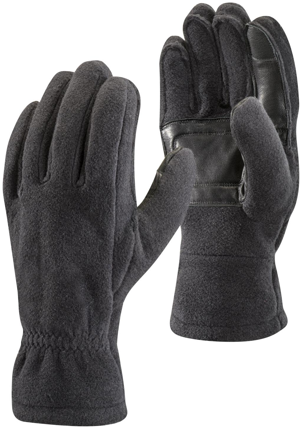 Black Diamond Midweight Fleece Gloves Black-30