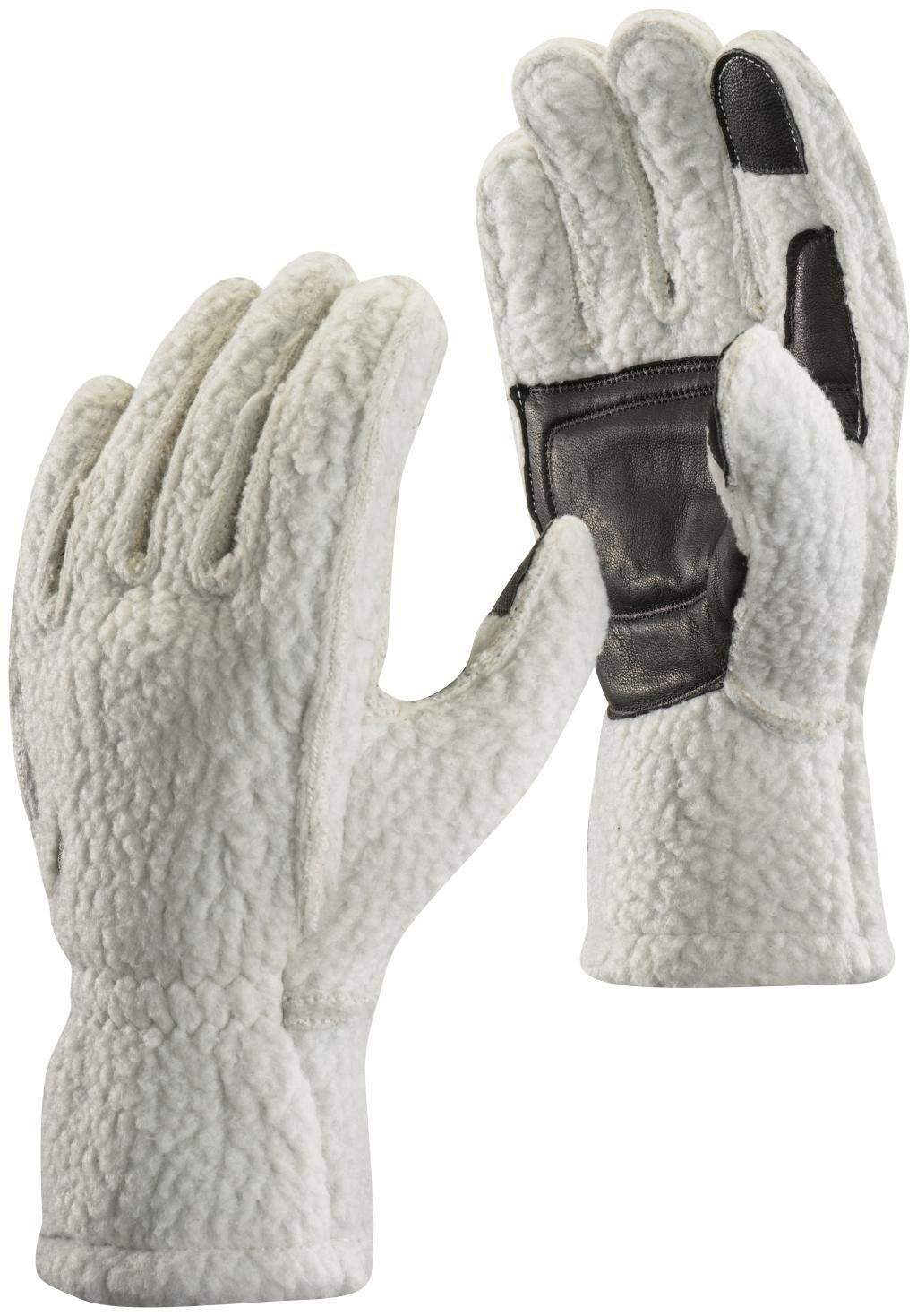 Black Diamond Yetiweight Fleece Gloves Aluminum-30