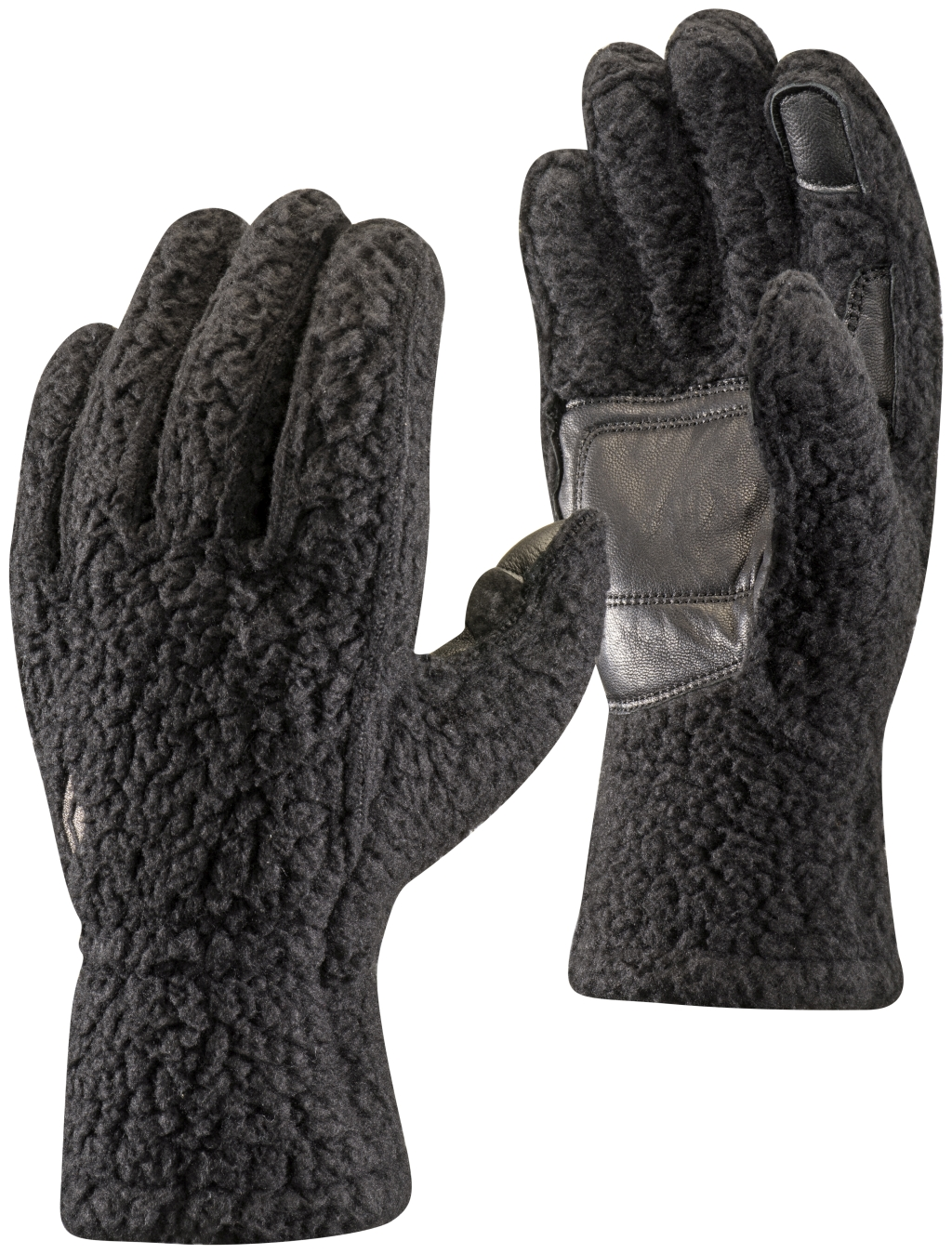 Black Diamond Yetiweight Fleece Gloves Black-30