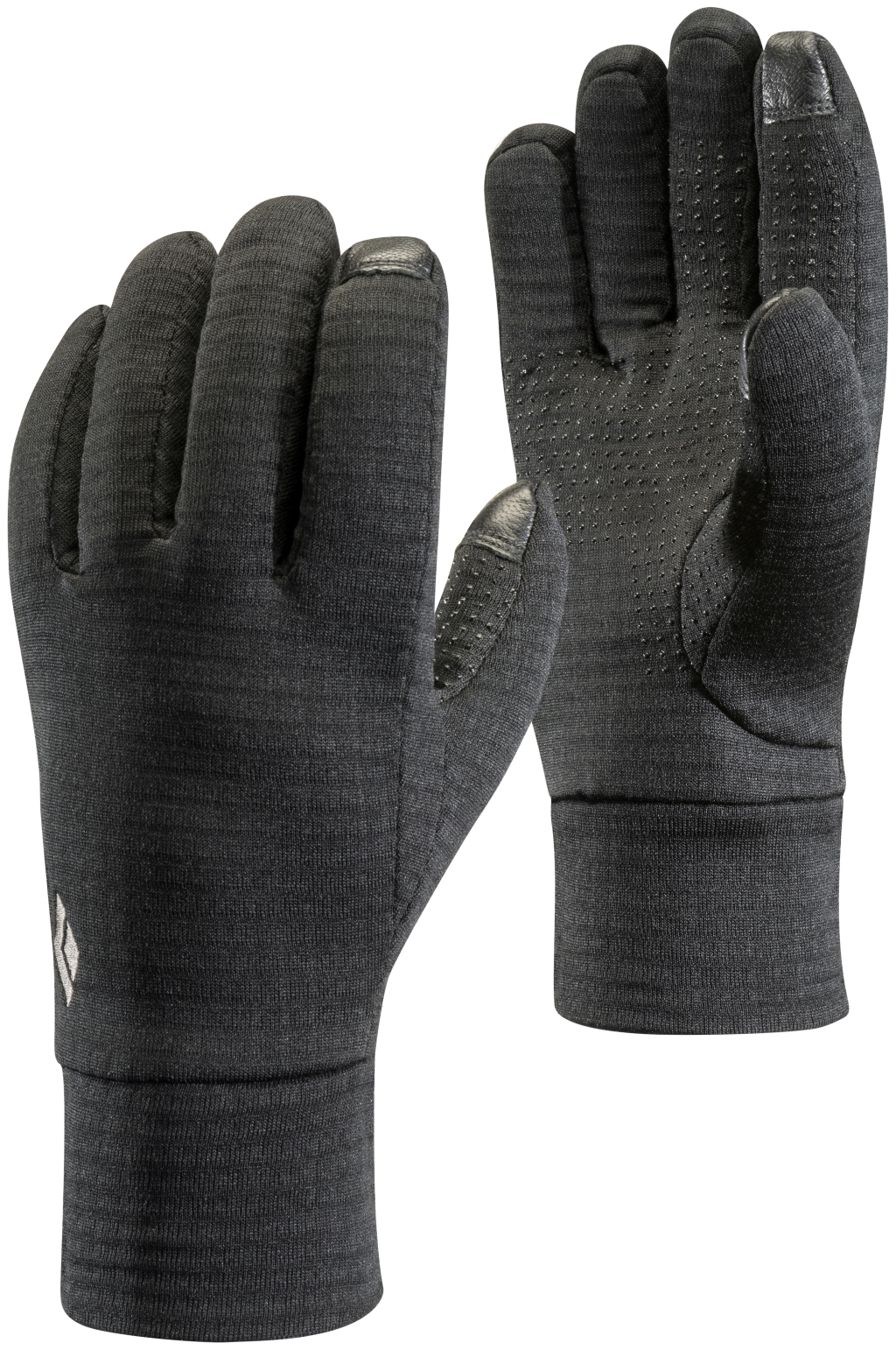 Black Diamond Midweight Gridtech Fleece Gloves Black-30