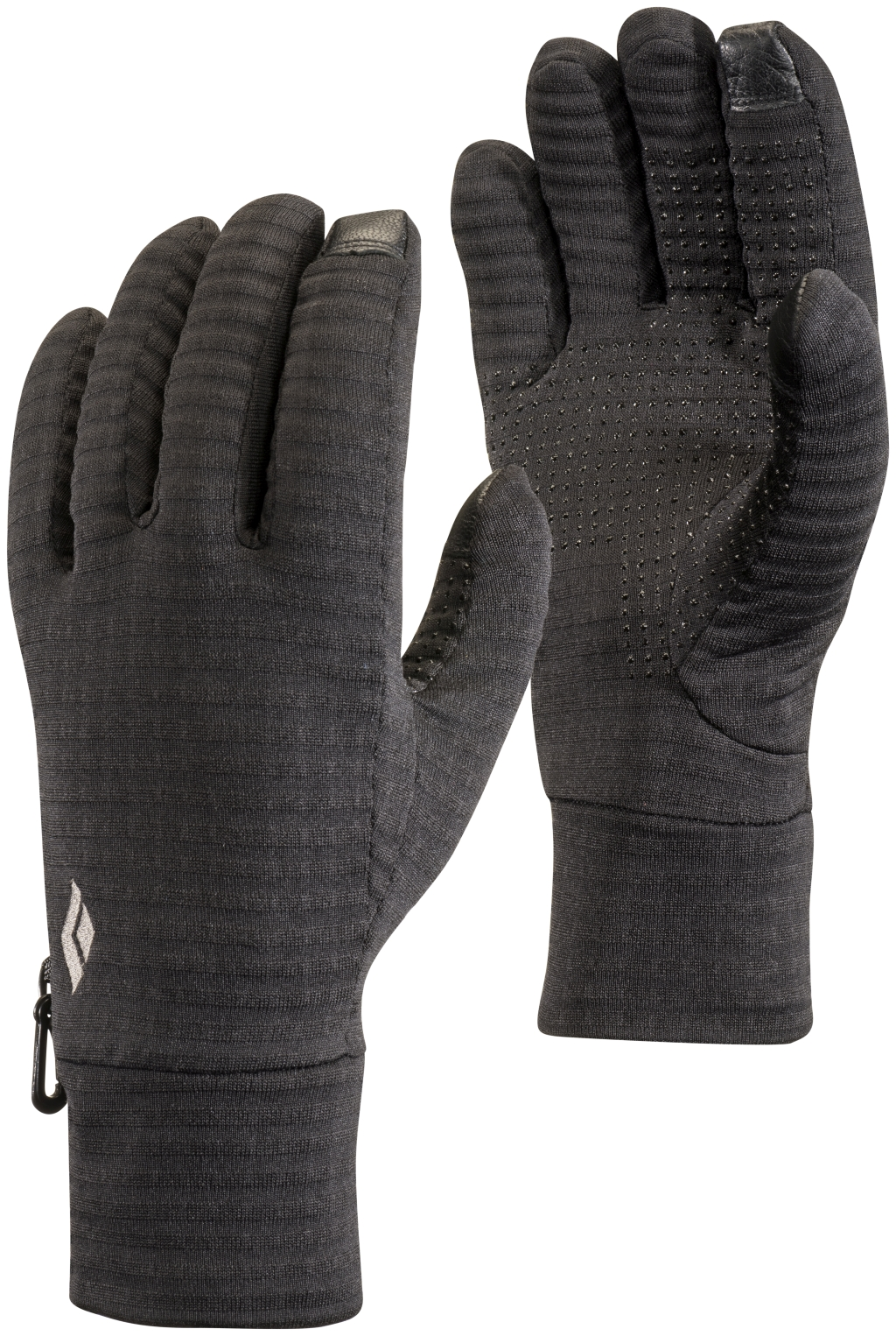 Black Diamond Lightweight Gridtech Fleece Gloves Black-30