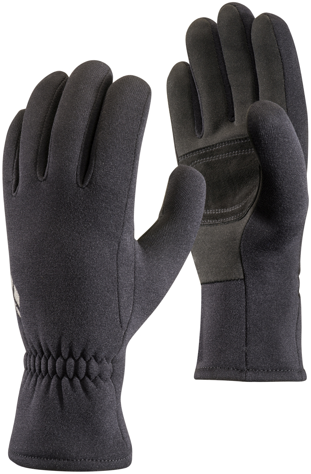 Black Diamond Midweight Screentap Fleece Gloves Black-30