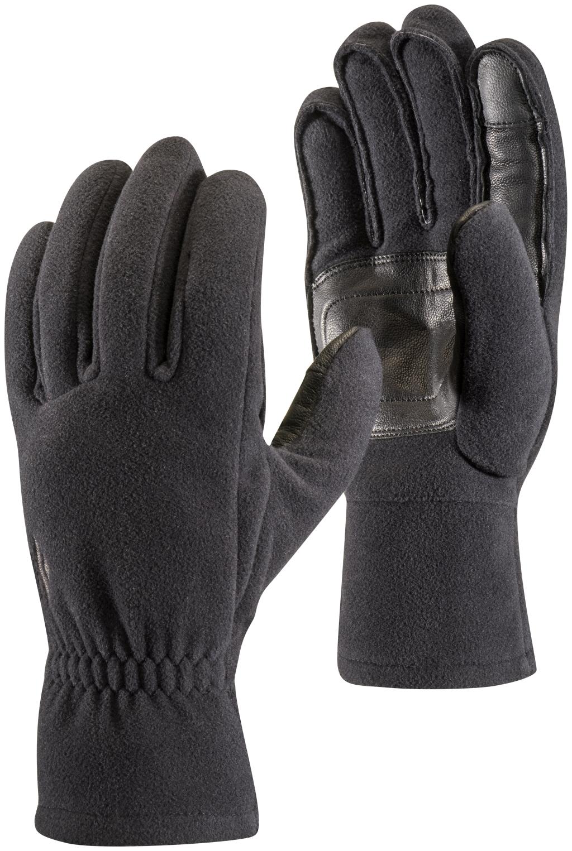 Black Diamond Midweight Windbloc Fleece Gloves Black-30