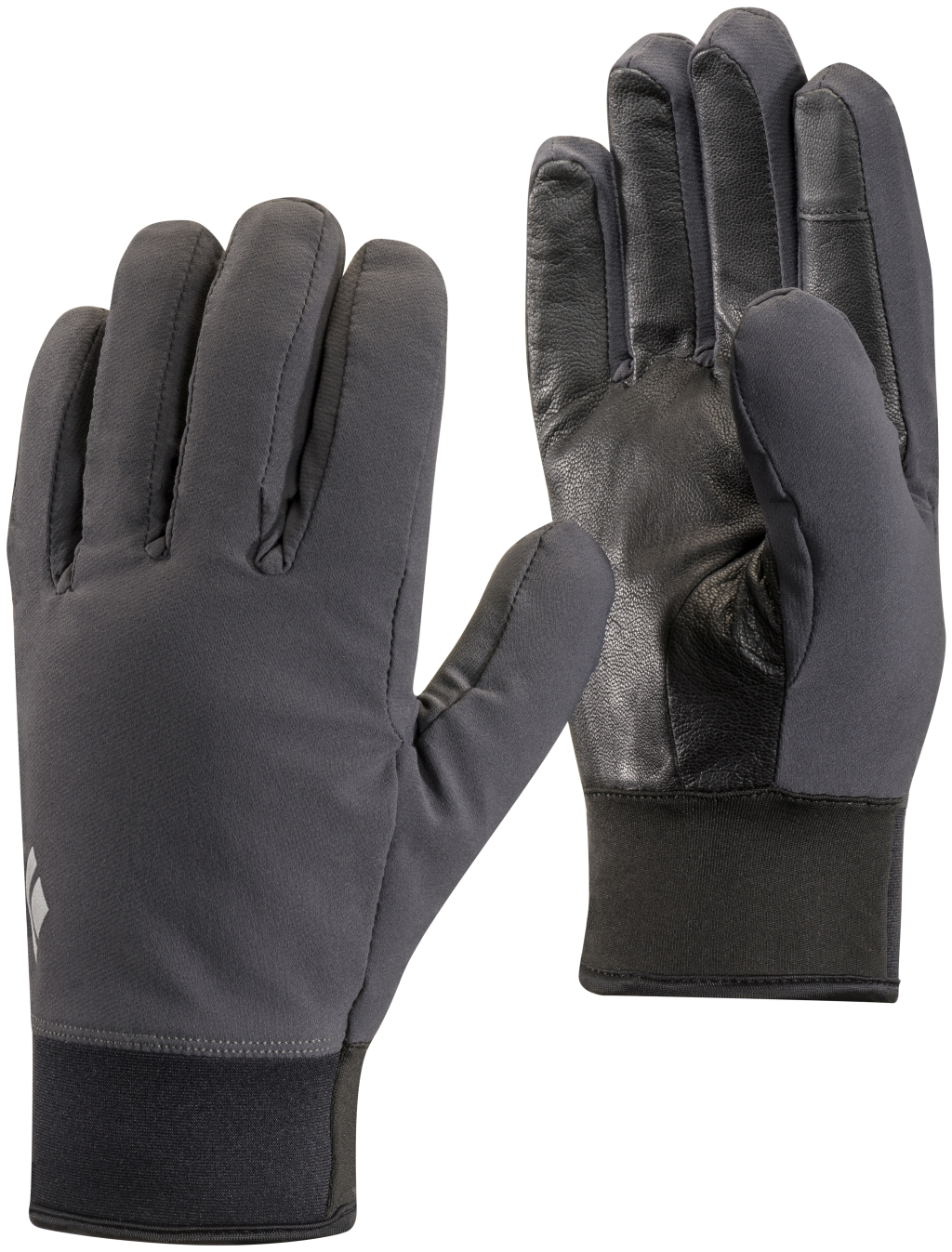 Black Diamond Midweight Softshell Gloves SMOKE-30