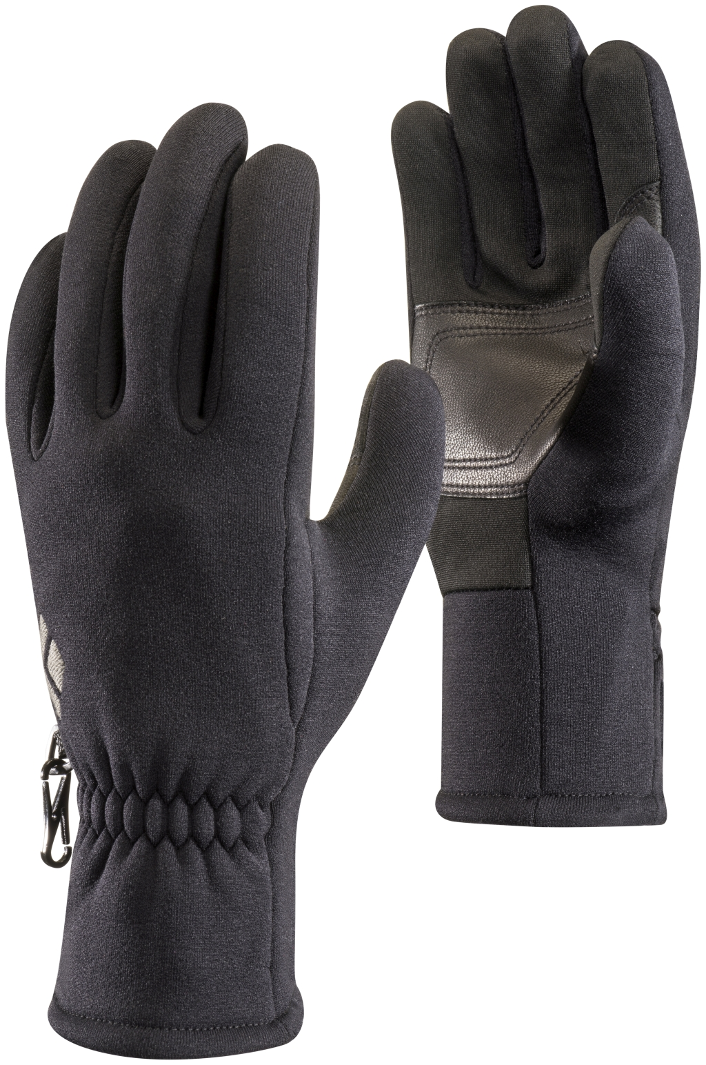 Black Diamond Heavyweight Screentap Fleece Gloves Black-30
