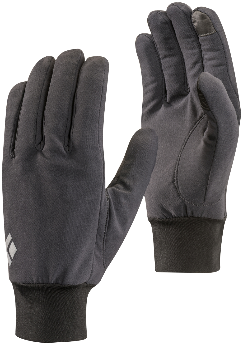 Black Diamond Lightweight Softshell Gloves SMOKE-30