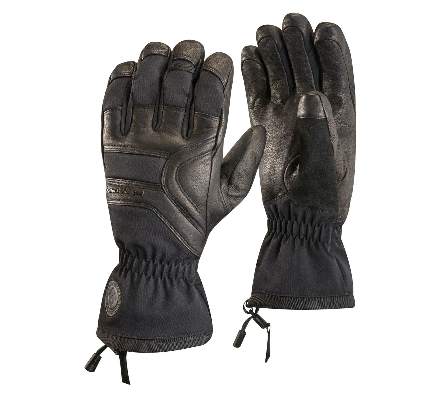 Black Diamond Patrol Gloves Black-30