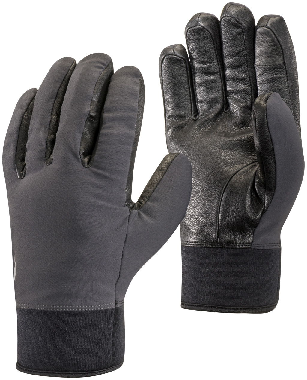 Black Diamond Heavyweight Softshell Gloves SMOKE-30