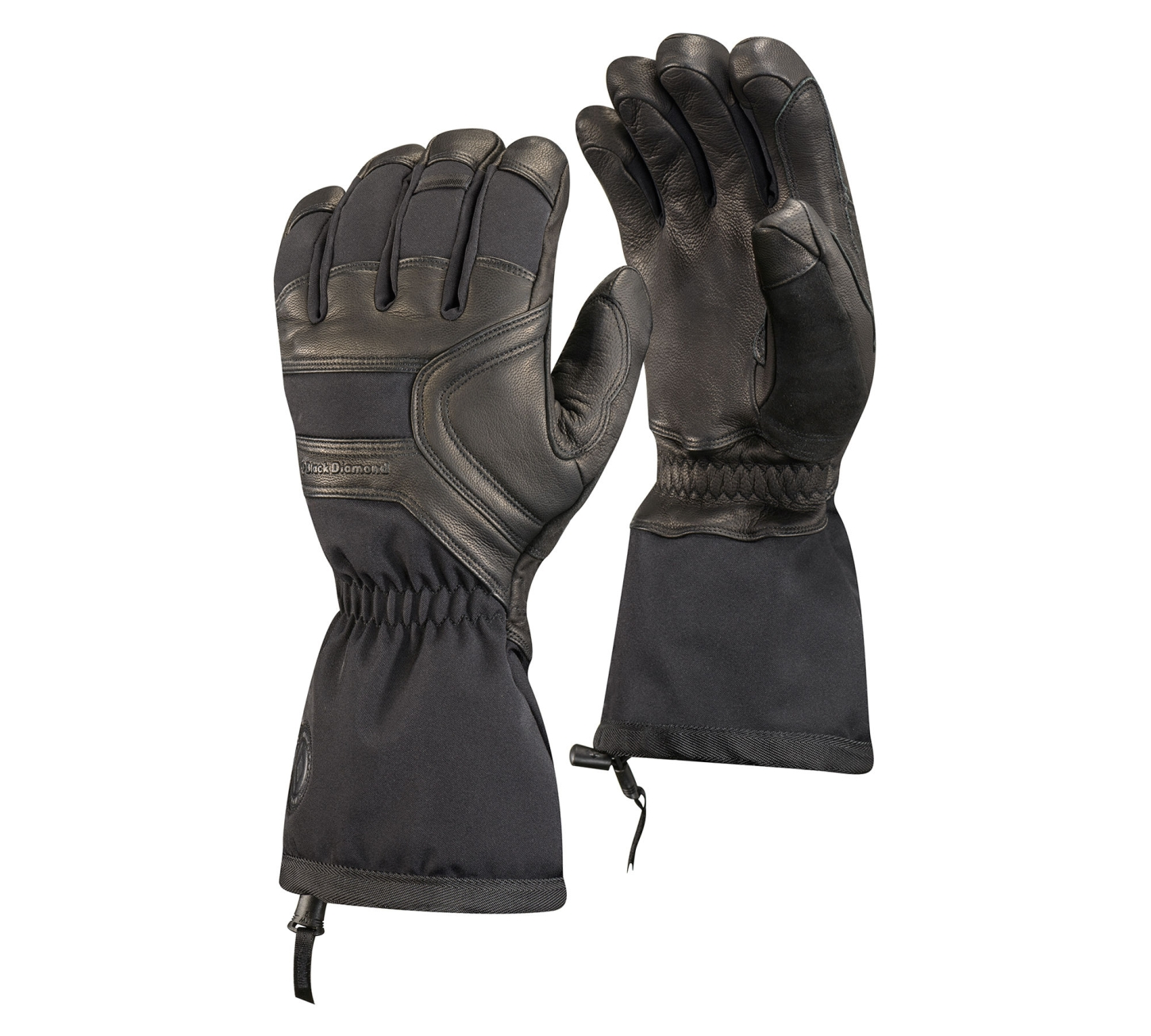 Black Diamond Crew Gloves Black-30