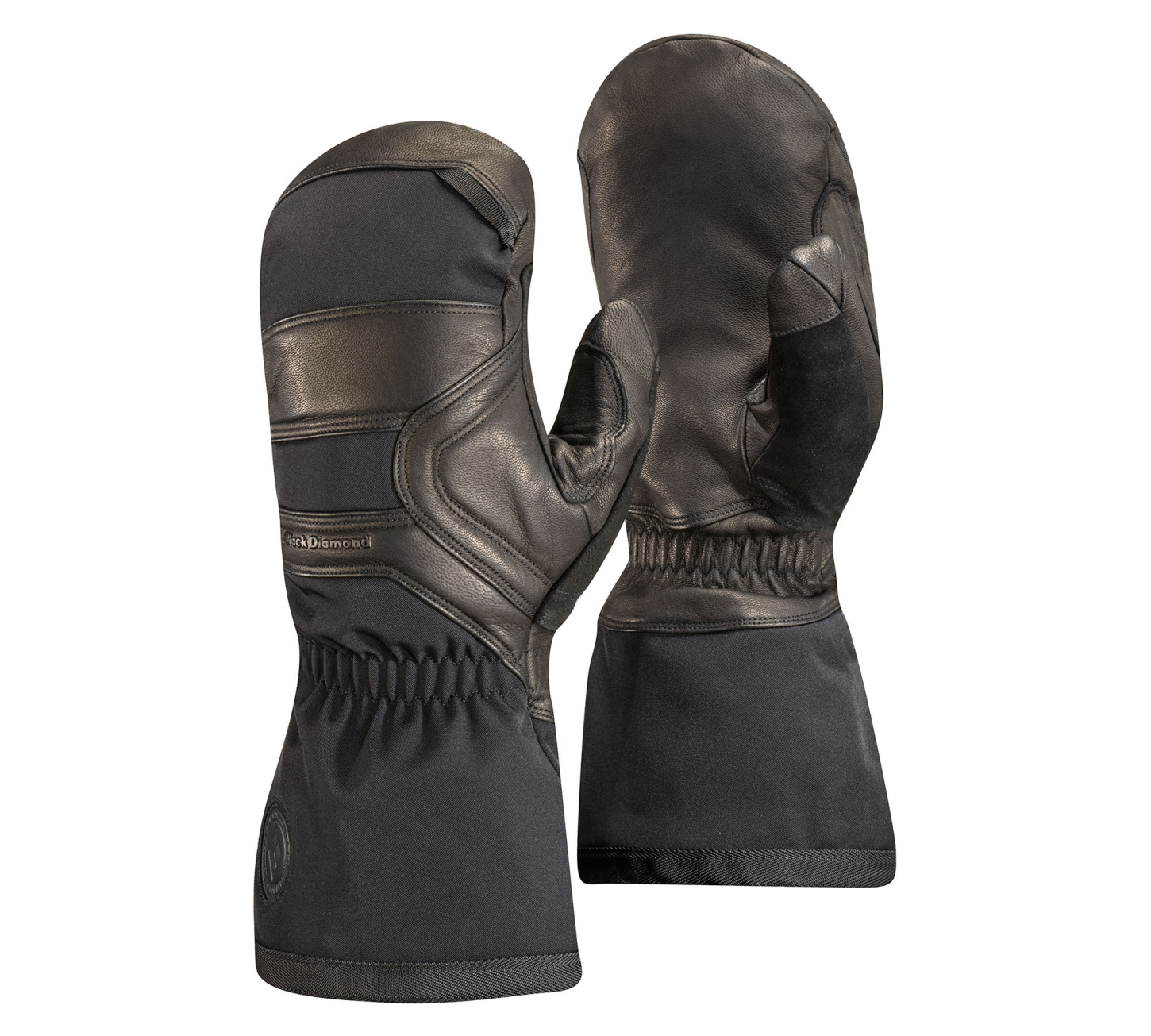 Black Diamond Crew Mitts Black-30