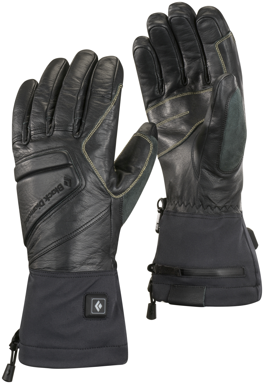 Black Diamond Solano Heated Gloves Black-30