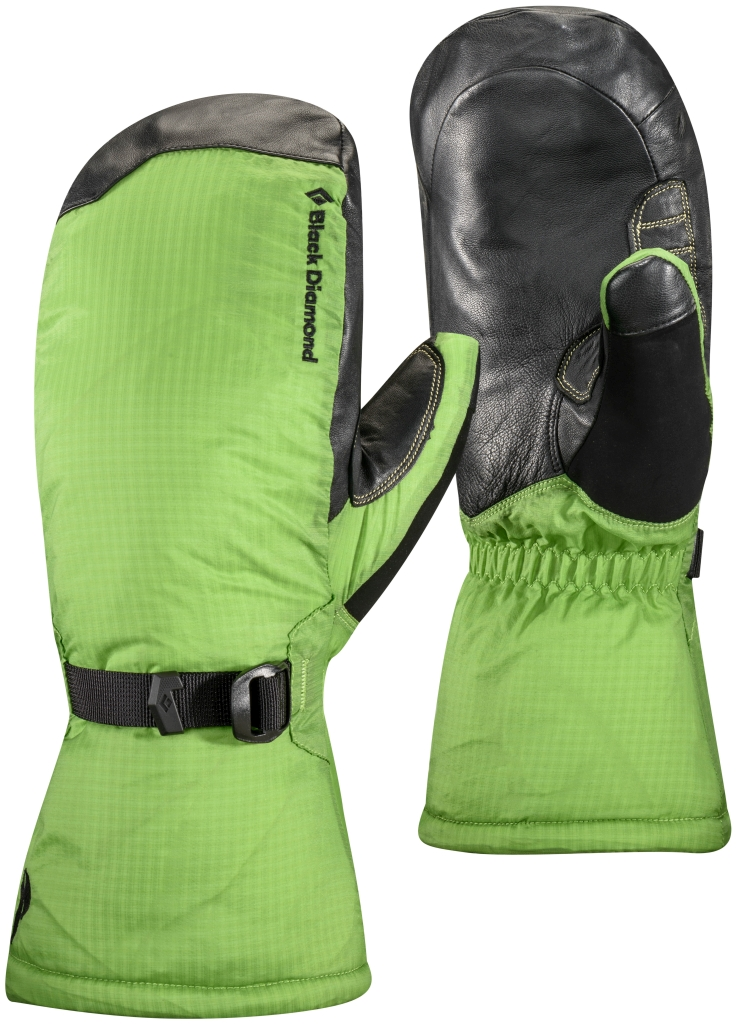 Black Diamond Super Light Mitt Lime Green-30