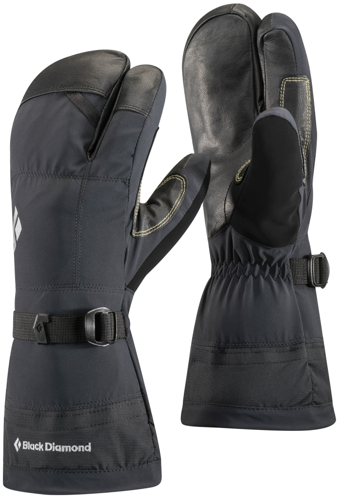Black Diamond Soloist Finger Gloves Black-30