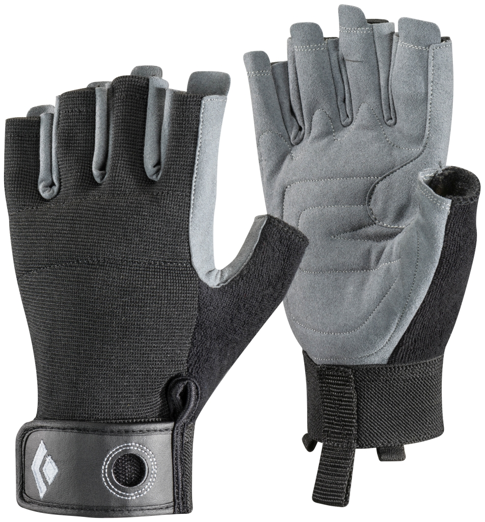 Black Diamond Crag Half-Finger Black-30