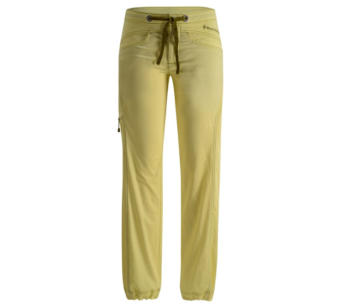 Black Diamond W's Credo Pants Lemon-30