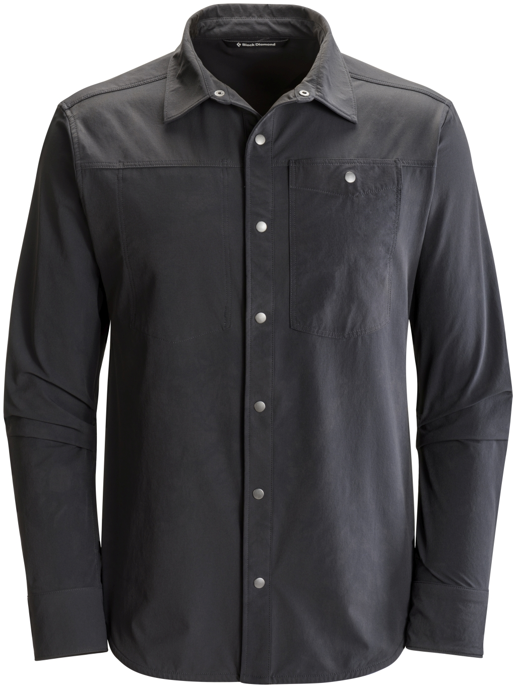 Black Diamond Modernist Rock Shirt Smoke-30