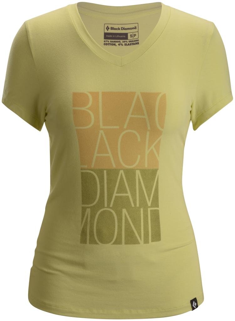 Black Diamond W's S/S BD Graphic Tee Lemon-30