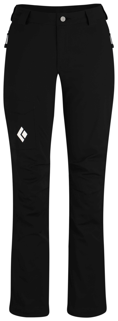 Black Diamond W´s Dawn Patrol LT Pants Black-30