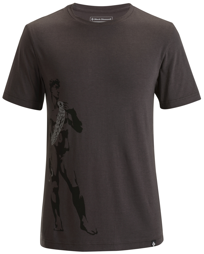 Black Diamond M's S/S Perfect Climber Tee Slate-30