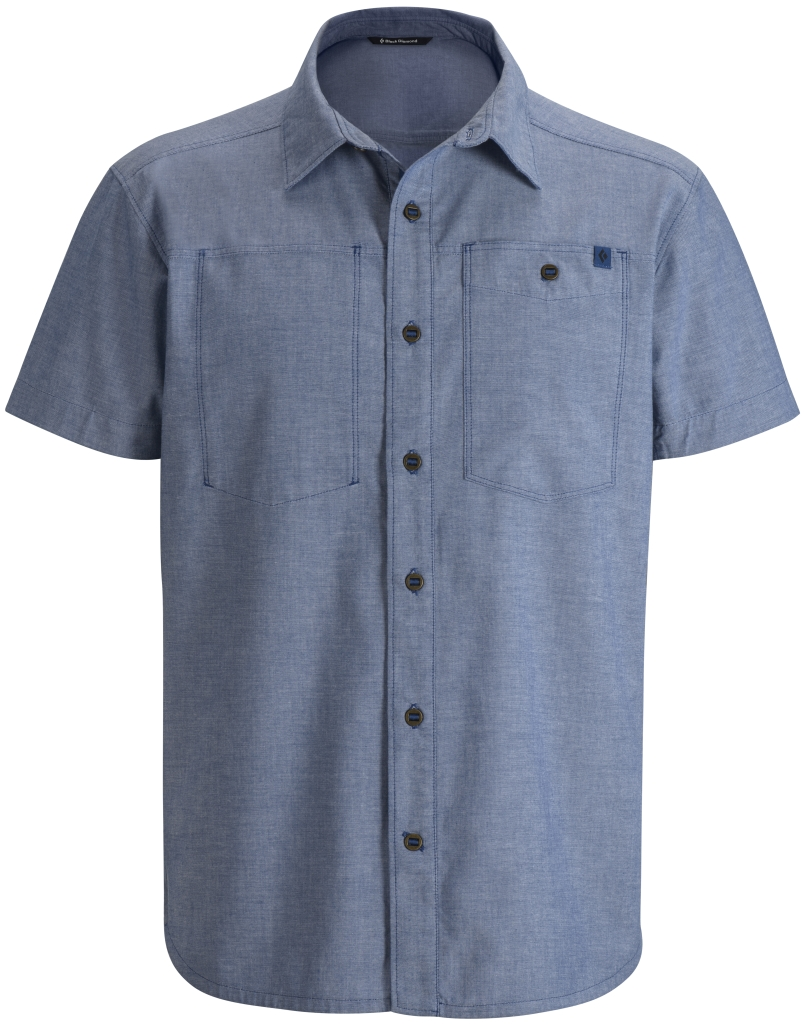 Black Diamond M's S/S Chambray Modernist Shirt Imperial-30