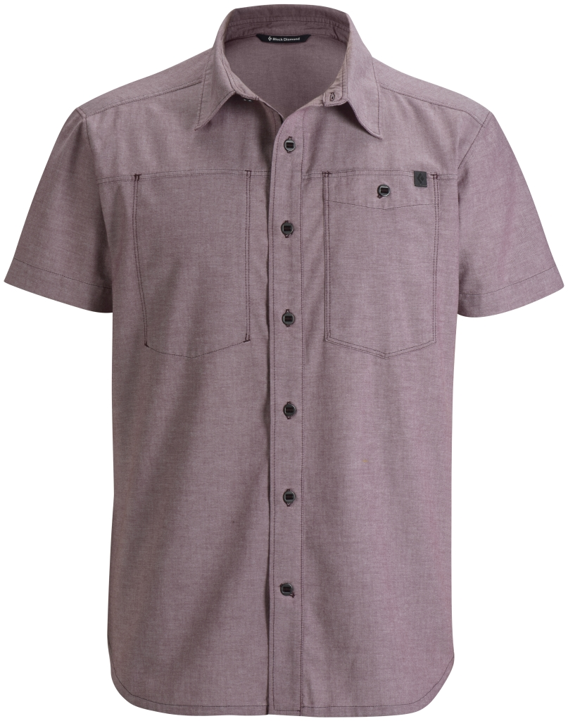 Black Diamond M's S/S Chambray Modernist Shirt Port-30
