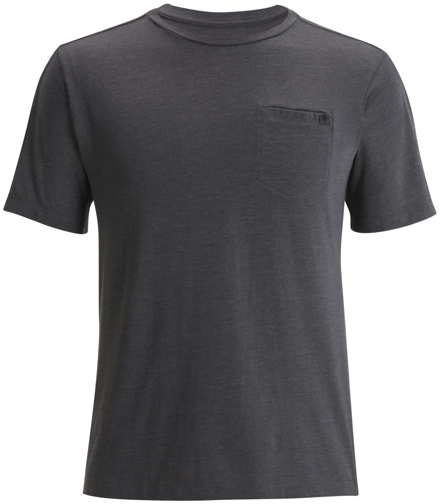 Black Diamond M's Cottonwood Tee Slate-30